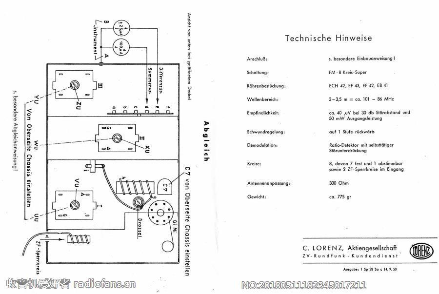 LORENZ UKW-Zusatz ULEI 52 -2 电路原理图.jpg