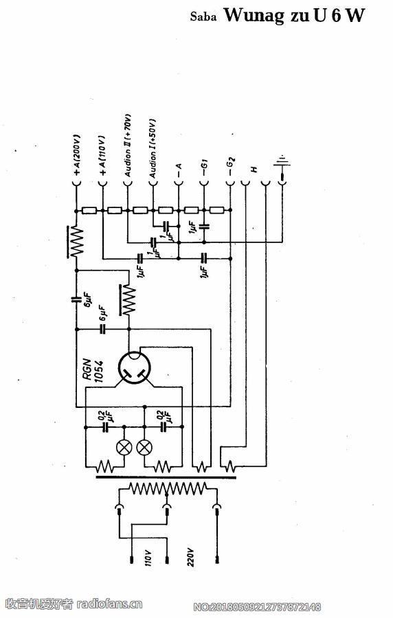 SABA Wunag zu U6W 电路原理图.jpg