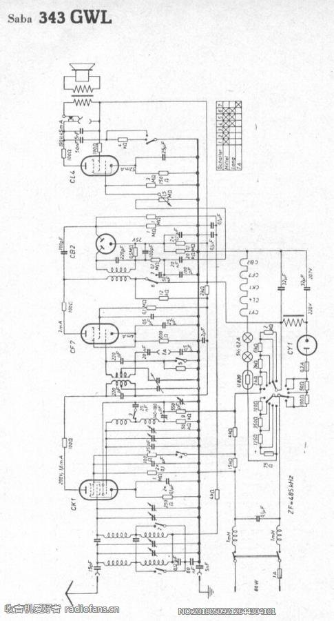 SABA 343GWL 电路原理图.jpg