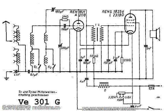 SABA VE301 电路原理图.jpg