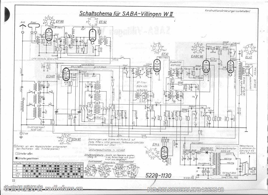 SABA Villingen-W2 电路原理图.jpg