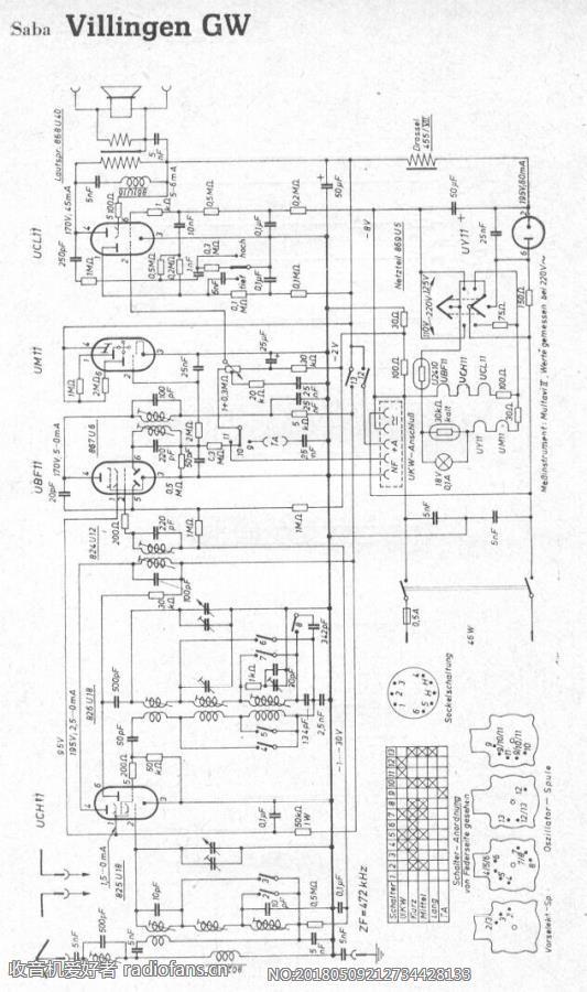 SABA VillingenGW 电路原理图.jpg