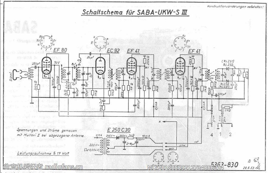SABA UKW-S3 电路原理图.jpg