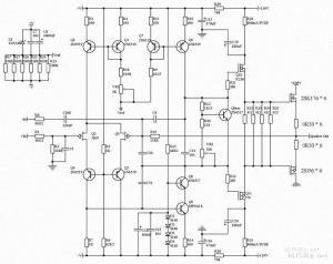 架势P401功放原理图